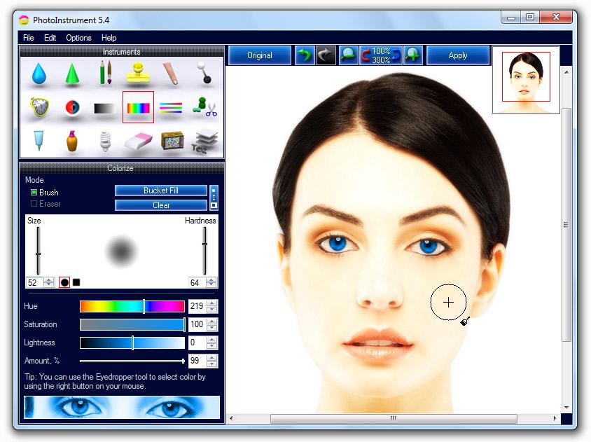 برنامج Photoinstrument لتجميل الوجه وإزالة الشوائب photo_instrument_54.